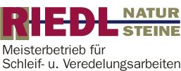 Logo Riedl Natursteine, Künzing
