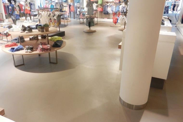 Designboden, CEMSYS zementbasierte Boden- und Wandsysteme Hermann Riedl in Osterhofen